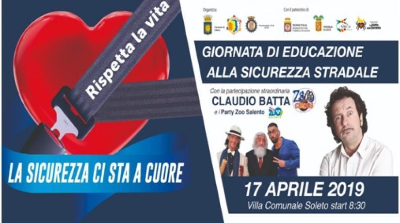 """""""La sicurezza ci sta a cuore"""" – 17.04.2019"""