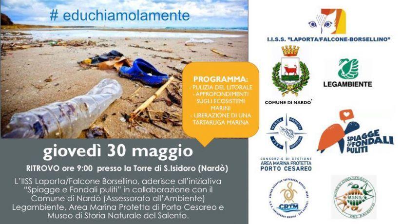 """Spiagge e fondali puliti"" - 30.05.19"