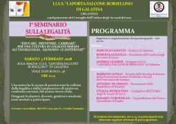 I° Seminario sulla legalità